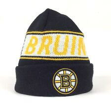 NHL Boston Bruins Beanie Winter Hat Cap 47 Brand Acrylic National Hockey League