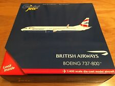 COMAIR BA BRITISH Airways 737-800W Diecast Model 1:400 Gemini GJBAW1335 ZS-ZWI
