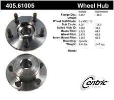 Wheel Bearing and Hub Assembly-Premium Hubs Front Centric 405.61005