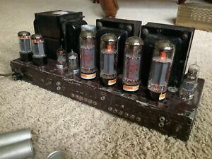 Vintage Fisher SA-300 stereo tube amplifier
