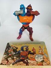 Two Bad 1984, Vintage He-Man MOTU + back card, complete