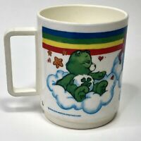 Vintage Care Bears Plastic Mug Deka USA