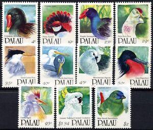 Palau 1991-2 Birds, Definitives MNH x 11 Stamps #D58811