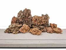 Aquarium Natursteine Drachenstein Deko Felsen braun 1 Stück verschiedene Größen