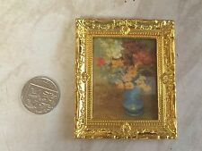 Dolls House 1:12 Scale - Framed Masterpiece Painting - New