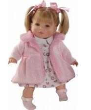 Preciosa muñeca Sandra habladora,abrigo rosa . En bolsa. (44071)