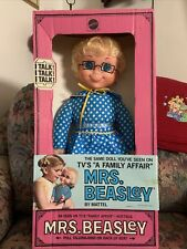 Curly Hair Mrs Beasley 1967 By Mattel Restored To Talk Original Box