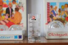 6x Ingrid Glas Ingrid Hütte Glasfabrik Weißwein Becher True Vintage 70er Gläser