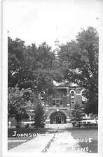 Olathe Kansas Johnson Court House Real Photo Antique Postcard K31311