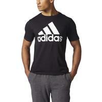 Adidas Men's t Shirt Badge of Sport Graphic Tee classic Black White M L XL XXL