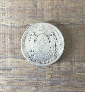 1920 Maine Centennial Commemorative Half Dollar Silver Coin