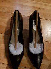 Alfani Womens Jeules Leather Pointed Toe Classic Pumps Black UK 5