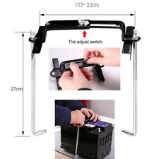 27cm Car Storage Battery Holder Adjustable Stabilizer Metal Mount Bracket Stand