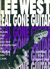 """LEE WEST """"REAL GONE GUITAR"""" AN INSTRUCTIONAL SONGBOOK ON SALE MUSIC BOOK!!"""