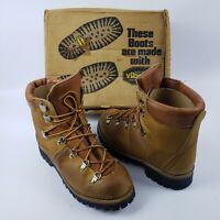 Women's Sears Mont Blanc Mountaineering Hiking Boots USA Size 7.5 B Vibram
