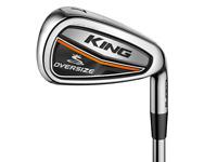 Puma Golf Cobra King OS RH Eisensatz Set 5-PW, SW Mamiya Recoil ES Graphit Lite
