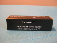 100% Authentic MAC Satin Lipstick CYBER Full Size New With Box