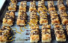 ☆Sweet & Chewy☆Homemade Samoas Cookie Bars Recipe☆Yummy!!! :)☆