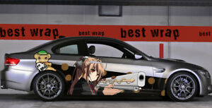 Isuzu Sento Amagi Brilliant Park Side Wrap Color Vinyl Sticker Decal Fit Any Car