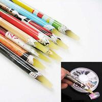 1PC Pick Up Pen Wax Resin Rhinestones Picker Pencil Crafts Nail Art Decor Long