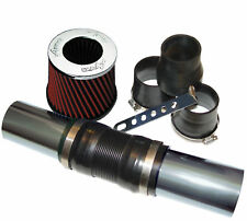 Apiro TORQUE Universal Air Induction Kit with Red Cotton Filter & Fittings