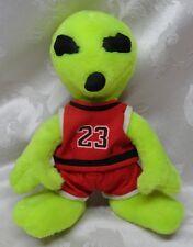 "Alien Life Form #23 Michael Jordan 11"" Neon Martian Space Jam Creature Spaceship"