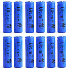 12pcs UltraFire 14500 3.7V 1200mAH Li-ion Rechargeable Battery Batteries Cell