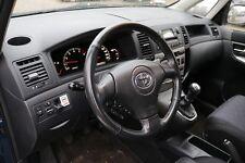 Toyota Corolla Verso E12 Armaturenbrett Gurte SRS Dashboard Satz Gurtstraffer