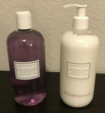 New Crabtree & Evelyn Savannah Gardens Shower Gel & Body Lotion 2 pc Set Gift