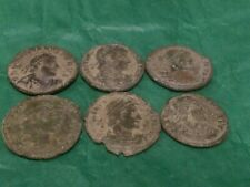 More details for 6x roman coins, uncleaned i think, pretty decent see pics