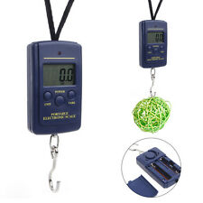 New 40kg 110Lb 1763oz Digital Handy Scales Luggage Fishing