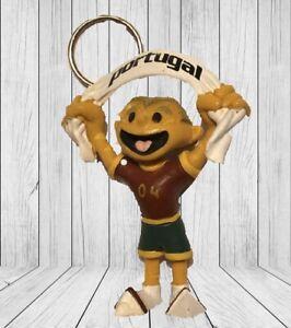 Football Uefa 2004 Mascot Figure Portugal Maia Borges kinas pvc keychain