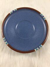 8 Dansk Mesa Sky Blue Saucer Plates Made in Japan