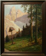 K. Benesch - Blick auf die Dolomiten