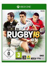 Microsoft XBOX - One XBOne Spiel ***** Rugby 18 * 2018 ***************NEU*NEW*55