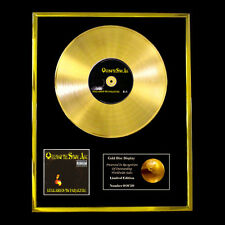 QUEENS OF THE STONE AGE LULLABIES CD GOLD DISC FREE P+P