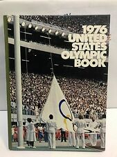 1976 UNITED STATES OLYMPIC BOOK HardCover Book. GREAT CONDITION