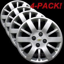 Chevy Cobalt 2009-2010 Hubcaps - GM Genuine OEM 3285 Wheel Covers (Set of 4)