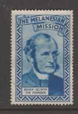 New Zealand Melanesian Mission Cinderella stamp 4-10-21- used- 1938?