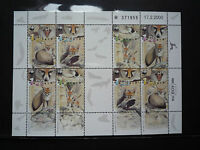 WWF Stamps Israel 2000 Blanford's Fox SS MNH