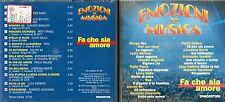 CD - DE AGOSTINI EMOZIONI IN MUSICA - FA CHE SIA AMORE                   (500)