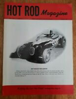 HOT ROD MAGAZINE VOL. NO. 1 JAN 1948 RE-ISSUE 1987 BY BROOKLANDS BOOKS VG cond.