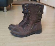 Replay Boots/Stiefel/braun/Größe 37/Leder