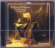 William WILLIAMS 6 Trio Sonatas Op.1 Duet CAMERATA KÖLN CPO CD 2002 NEU