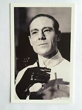 CARTE POSTALE JAMES BOND JOSEPH WISEMAN DOCTEUR NO POSTCARD 007