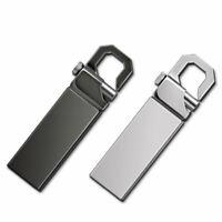 2TB 256GB Metal Keychain USB 2.0 Flash Drive Memory Stick Thumb Pen U Disk PC