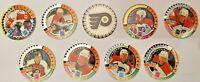 1994 NHL POGS - Team Lot - Philadelphia Flyers