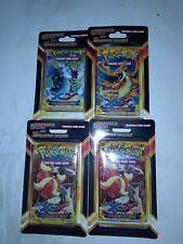 Pokemon XY Flashfire Blister Pack +5cards(Lot of 4)