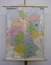 Belle bonne voit Carte Allemagne Germany Vintage Wall Map 99x136cm ~ 1990