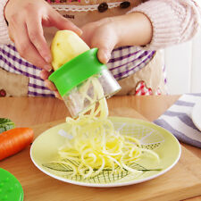 Spiral Slicer Twister Vegetable Cutter Fruit Peeler Grater Shredder Kitchen Tool